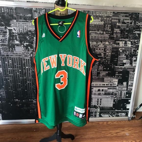 sale retailer b2e5b 722eb Marbury NY Knicks Green St Patrick's Day Jersey